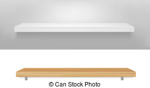 White shelf Vector Clipart Royalty Free. 5,000 White shelf clip.