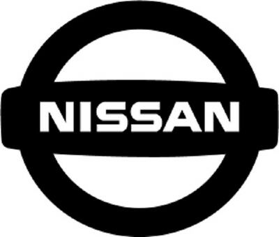 Nissan Logo vinyl decal.