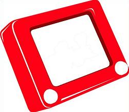 Free Etch a Sketch Clipart.