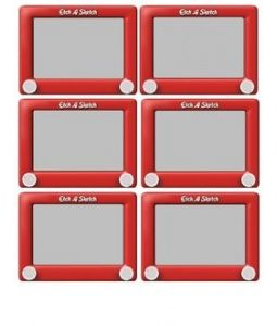 Printables} Etch a Sketch Labels for a Toy Story Birthday.