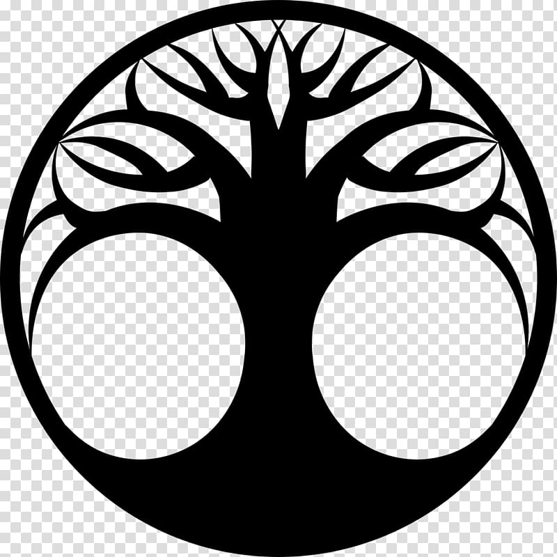 Drawing Tree of life , gift of eternal life transparent background.