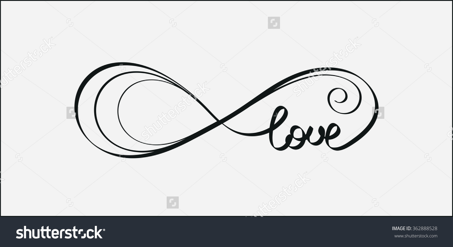 Symbol for eternity love images symbol and sign ideas eternal love clipart clipground eternal love icon valentines day vector stock vector 362888528 buycottarizona biocorpaavc