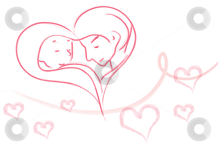 Eternal love clipart.