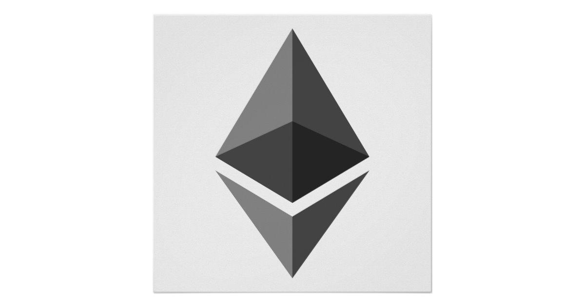 Ethereum ETH Logo.