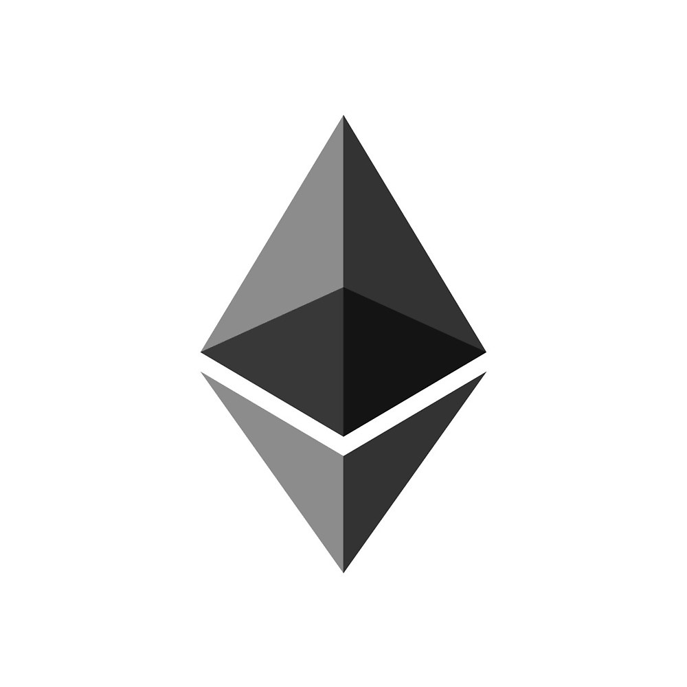 Ethereum Ether CryptoCurrency Logo\