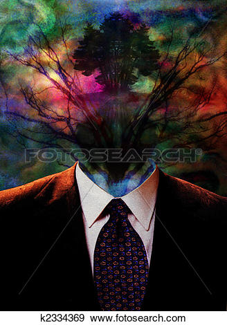 Stock Illustration of Surreal Ethereal Image k2334369.