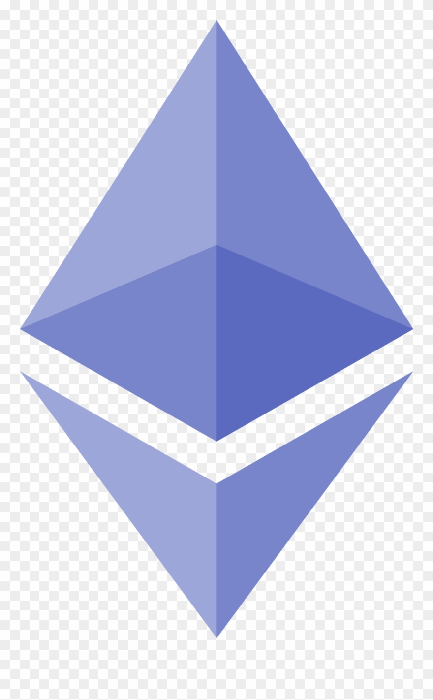 Ethereum Icon Line Symbol Isolated Vector Stock Vector.