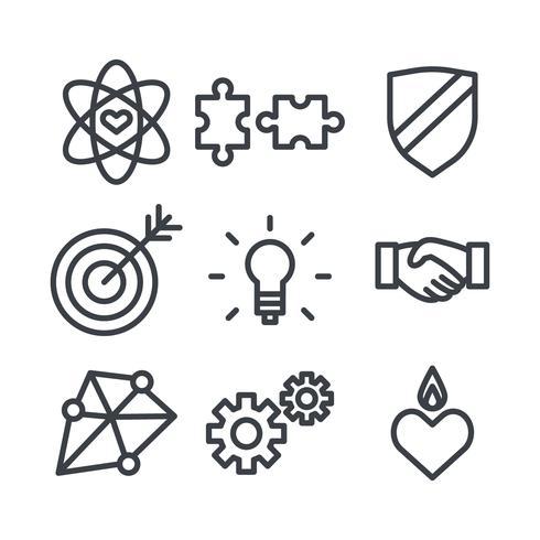 Ethical Icon Vectors.