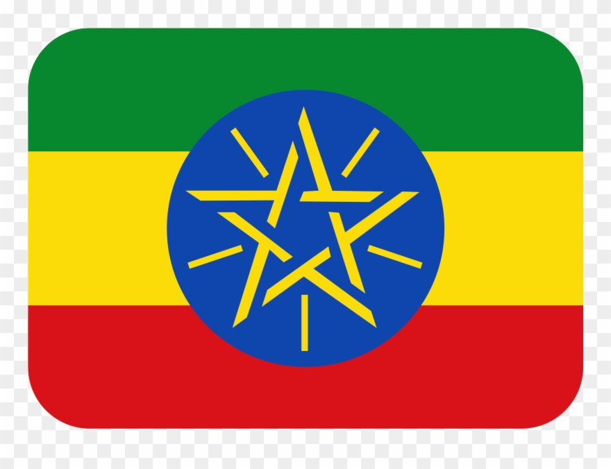 Flag Of Ethiopia.
