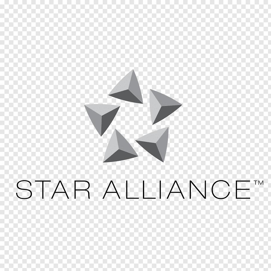 Yellow Star, Lufthansa, All Nippon Airways, Star Alliance.