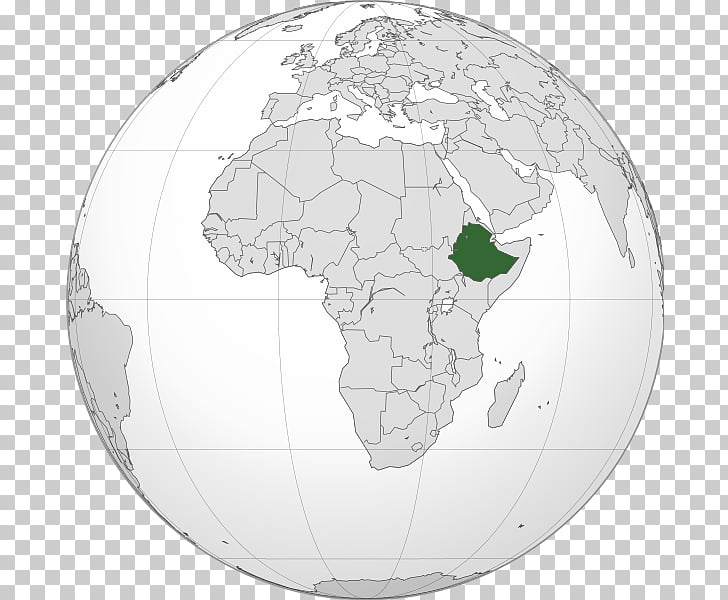Ethiopian Empire Addis Ababa World map Amharic, map PNG.