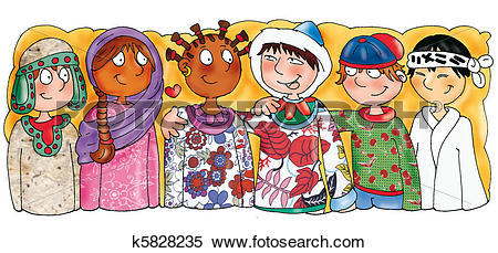 Ethnic Illustrations and Clip Art. 16,585 ethnic royalty free.