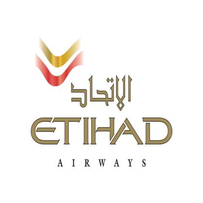 Logo Etihad Airways.