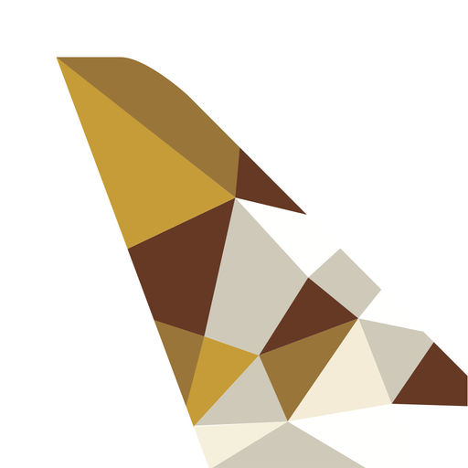 Etihad Airways App for iPhone.