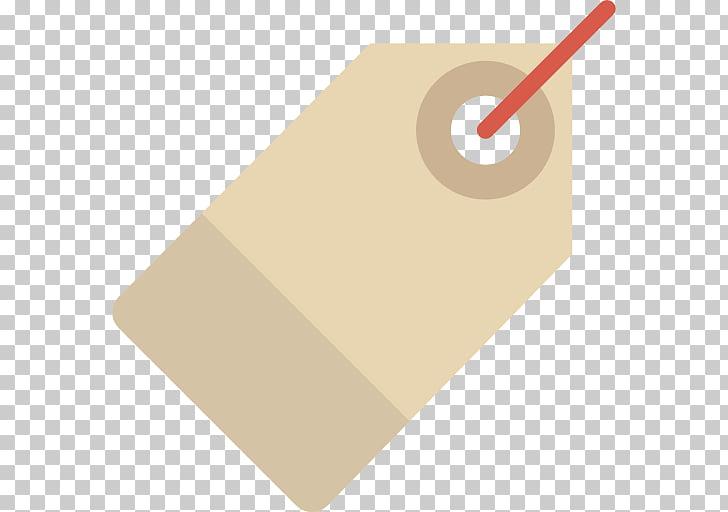 Ilustración de etiqueta de producto beige, icono de etiqueta.