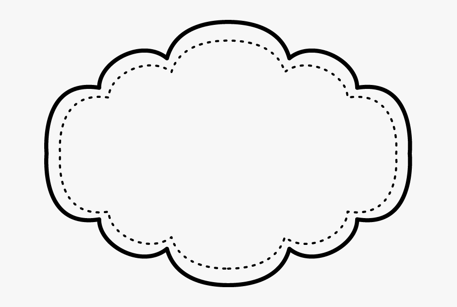 Free Printable Black And Withe Frame Shape Templates.
