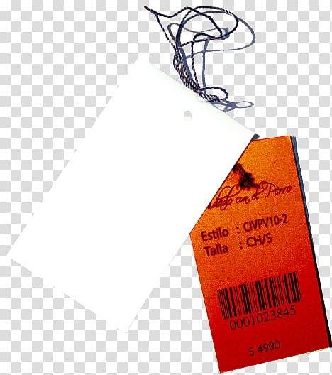 Etiquetas, product price tag and barcode transparent.