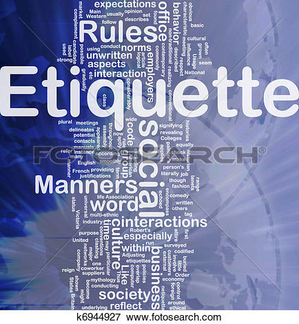 Etiquette Illustrations and Clipart. 4,082 etiquette royalty free.