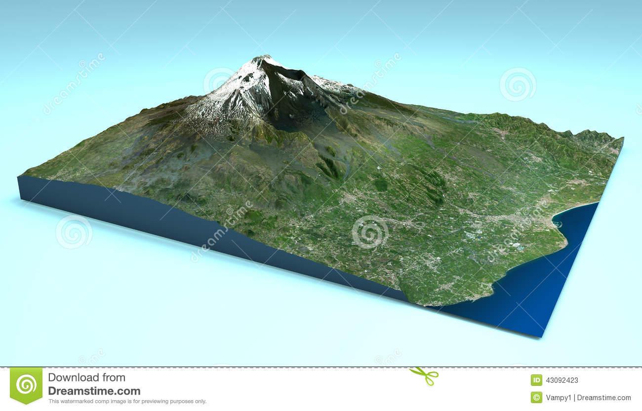Etna Stock Illustrations.