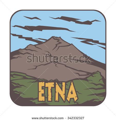 Etna Volcano Stock Vectors, Images & Vector Art.