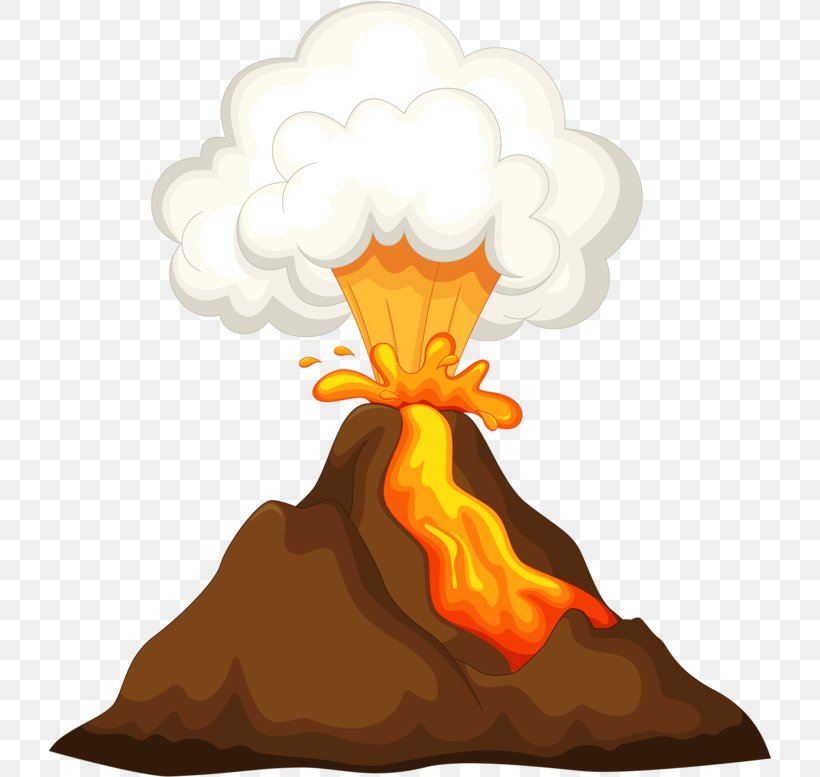 Mountain Cartoon, PNG, 723x777px, Volcano, Cartoon, Lava.