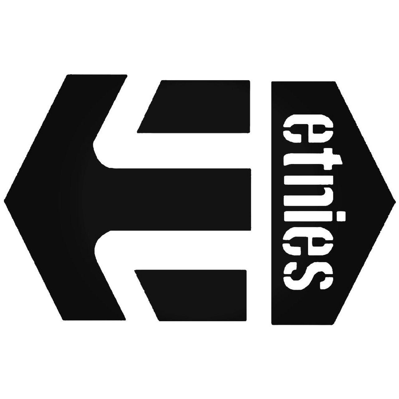 Etnies Logo 1 Sticker.
