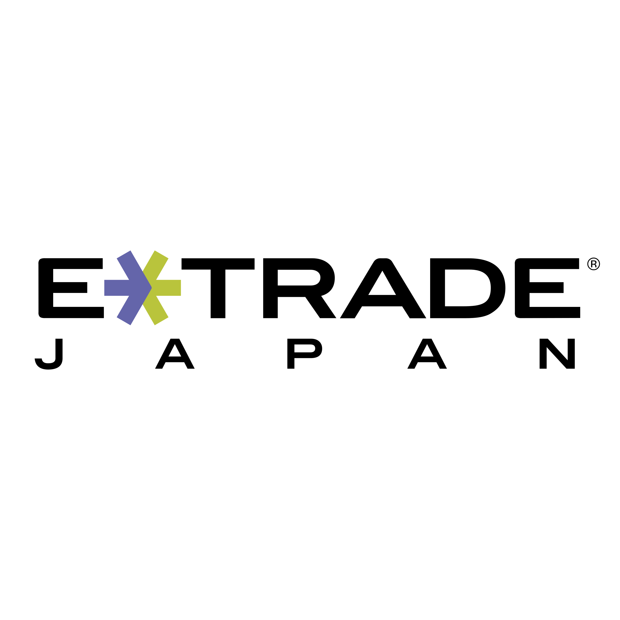 E Trade Japan Logo PNG Transparent & SVG Vector.