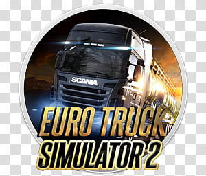 Euro Truck Simulator 2 transparent background PNG cliparts.