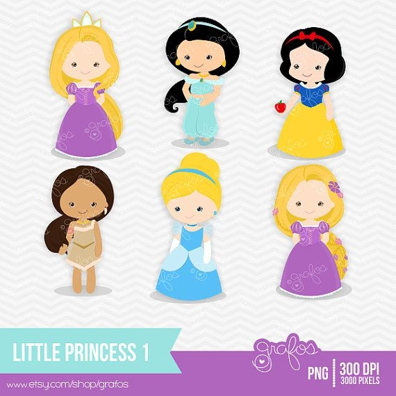 Princess Clipart Etsy.