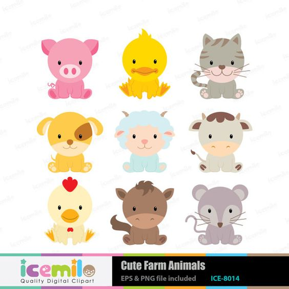 Animal Clipart Etsy.