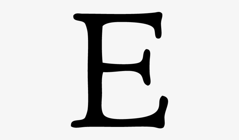 Etsy Letter Logo Vector.
