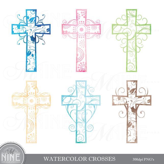Watercolor Cross at GetDrawings.com.