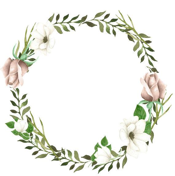 Watercolor Wreath Clipart at PaintingValley.com.
