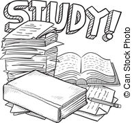 Illustration et Clip Art Vecteur Libre de Droits de Études. 94 005.