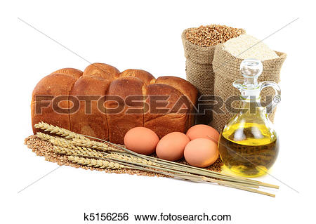 Stock Images of Egg Bread photo etude. k5156256.