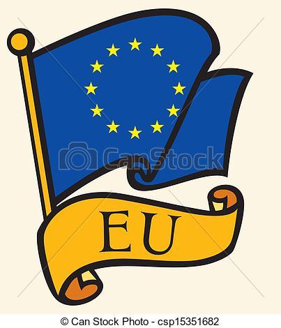 Clipart eu flag.