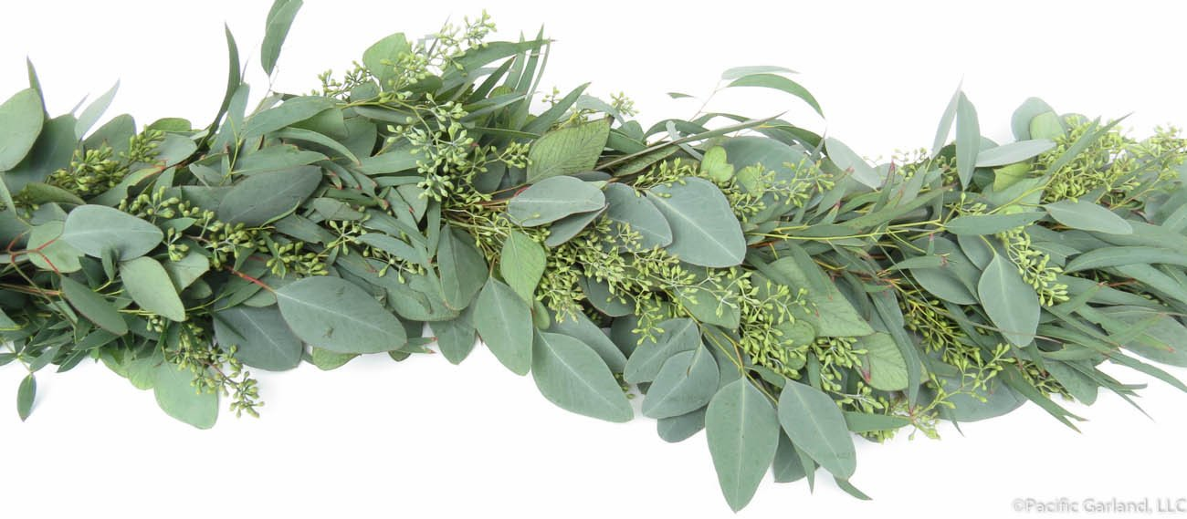 Seeded Eucalyptus Garland.