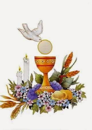 Pin de Eduardo Dupetit en comunión de juan bautista.