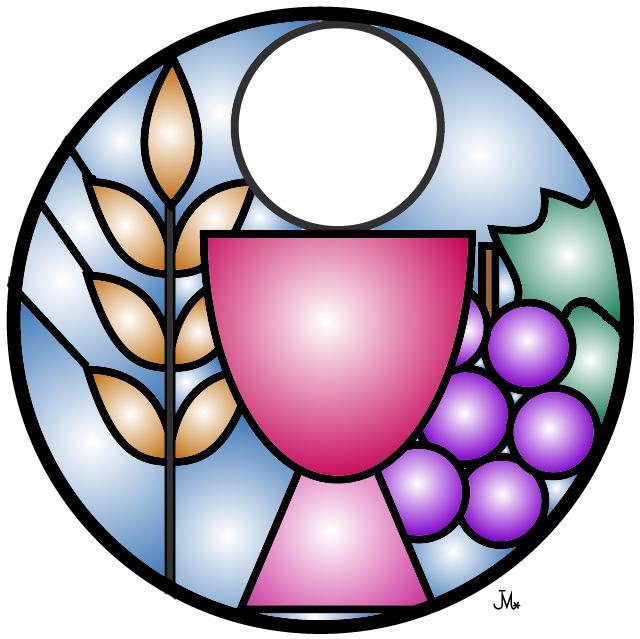 First eucharist clipart.