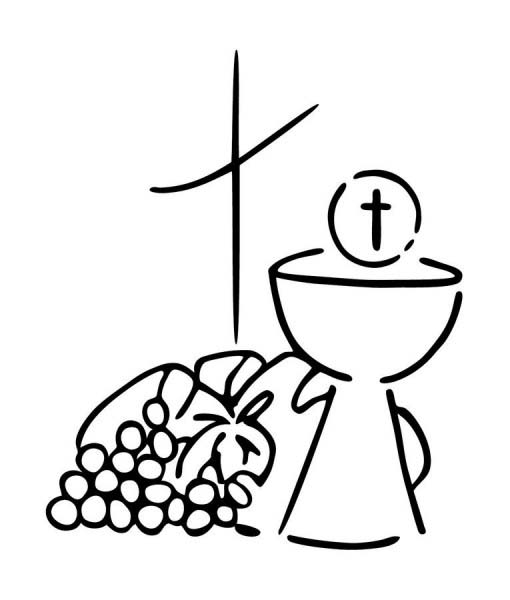 Eucharist Drawing.