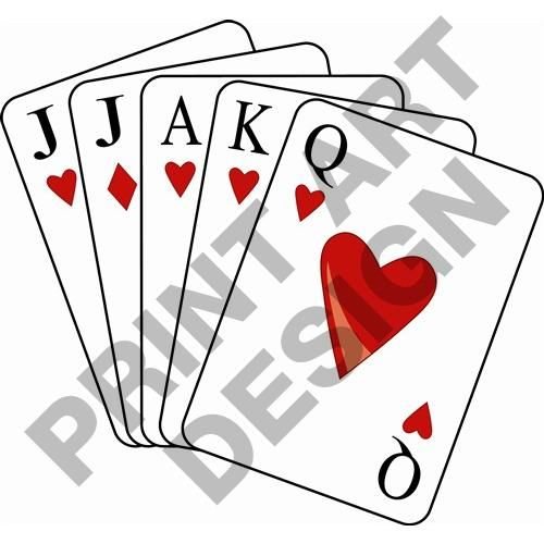 Euchre Playing Cards.