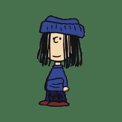 Peanuts Character Eudora transparent PNG.