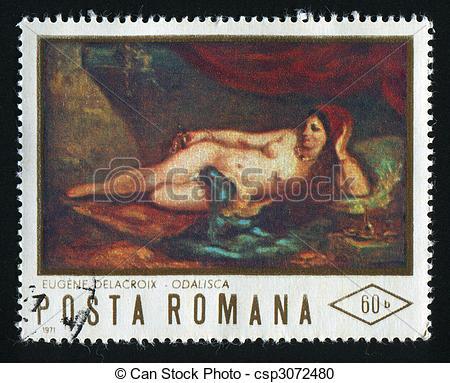 Stock Illustration of postmark.