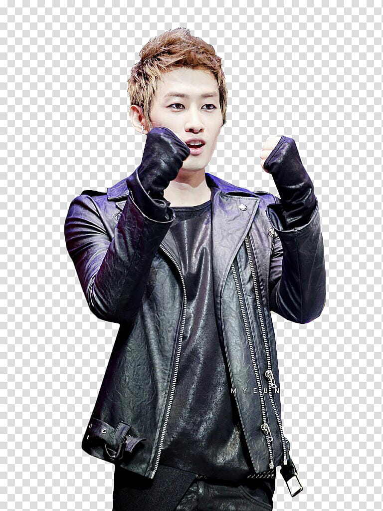 Eunhyuk HAPPYEUNHYUKDAY transparent background PNG clipart.