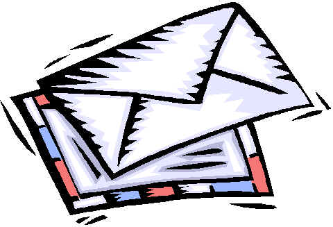 Letter of application clipart