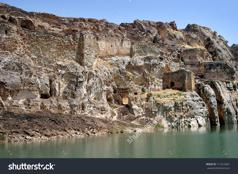 Firat River Euphrates River Gaziantep Turkey Stock Photo 111613601.