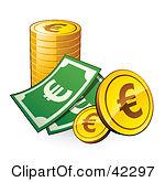 Clipart euro.