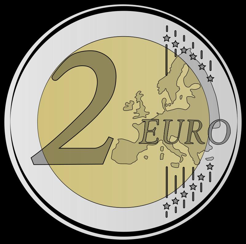 2 euro clipart.