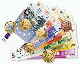 Clipart euro money.