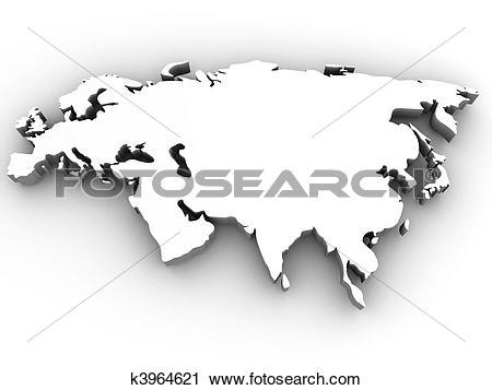 Clipart of Eurasia k3964621.